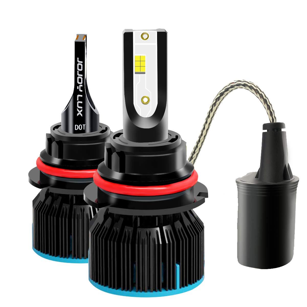 Fog Driving Light Bulb Kit with 56W 6400LM Epistar LED Chips JOJOY LUX H7 LED Low Beam Headlight Conversion Kits Pair of 2 w// 1 yr Warranty High Beam Bulbs 6500K Diamond White Color