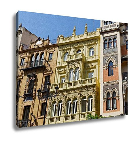 Ashley Canvas, Historic Buildings And Monuments Of Seville Spain Architectural Details Stone, Home Decoration Office, Ready to Hang, 20x25, AG6534628 by Ashley Canvas