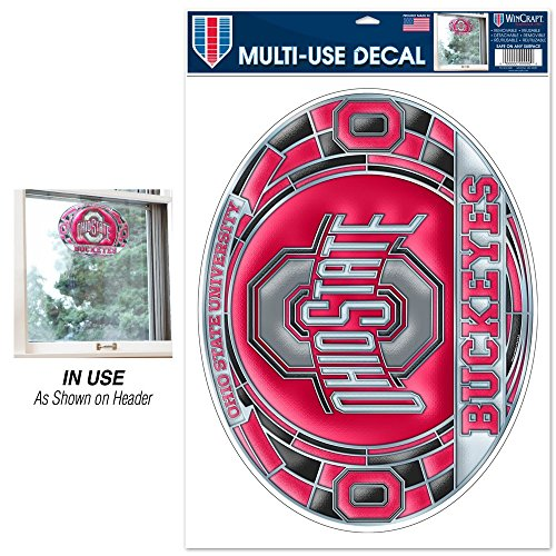 (WinCraft NCAA Ohio State University Multi-Use Decal Stained)