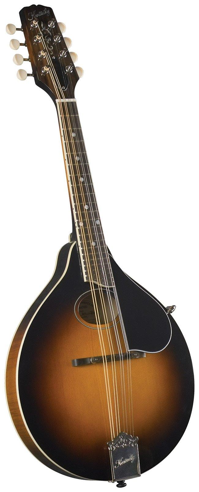 Kentucky KM-270 Artist Oval Hole A-Style Mandolin - Sunburst