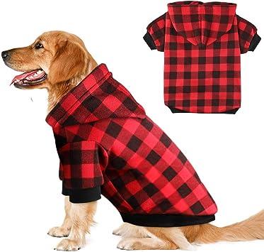 Amazon.com: Blaoicni sudadera con capucha para perros, gatos ...