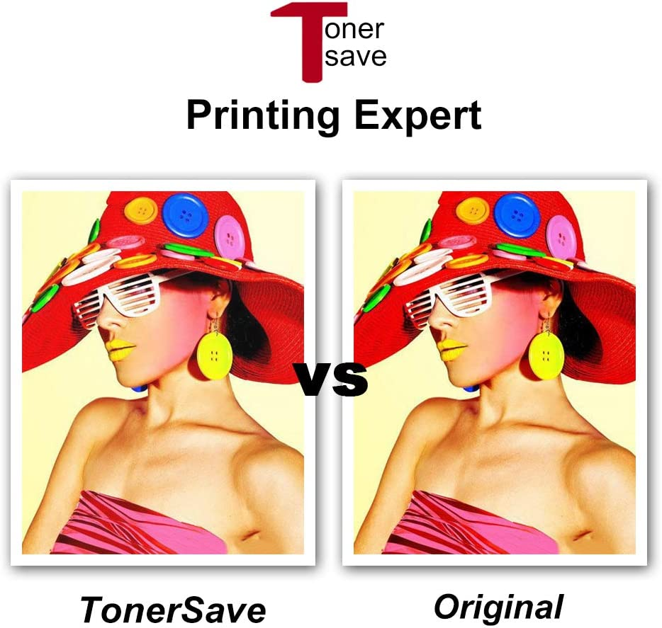 Tonersave Compatible HP 124A Toner Q6000A Q6001A Q6002A Q6003A HP 1600 Toner 2600n Toner for HP Color Laserjet 2605dn 2600n 1600 2605n CM1015 MFP CM1017 2605DTN HP124A 4PK