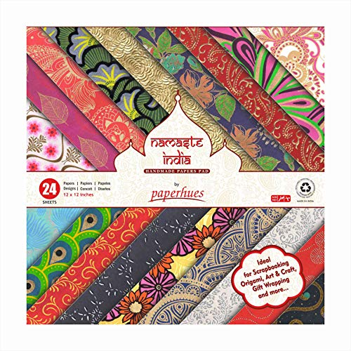 Decoupage Pad (Paperhues Namaste India Collection Scrapbook Papers 12x12
