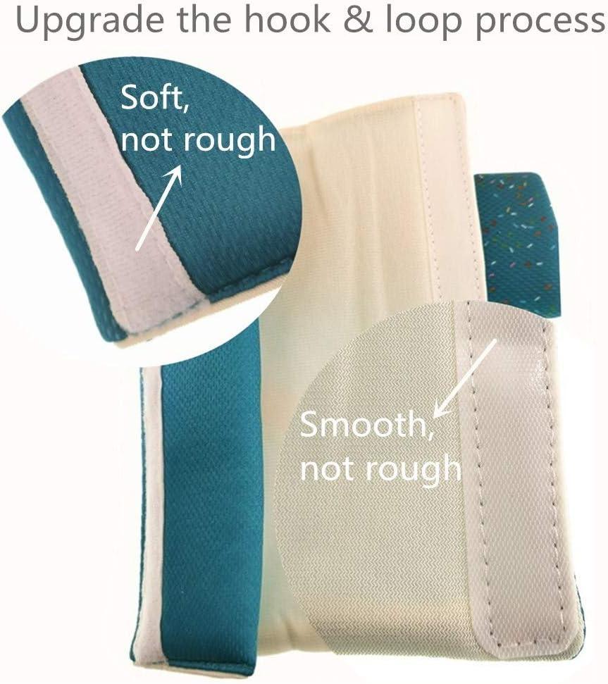 dise/ño de dibujos animados almohadilla para cintur/ón de seguridad para el hombro para mayor comodidad en el viaje 2 piezas de cintur/ón de seguridad para coche Muroad