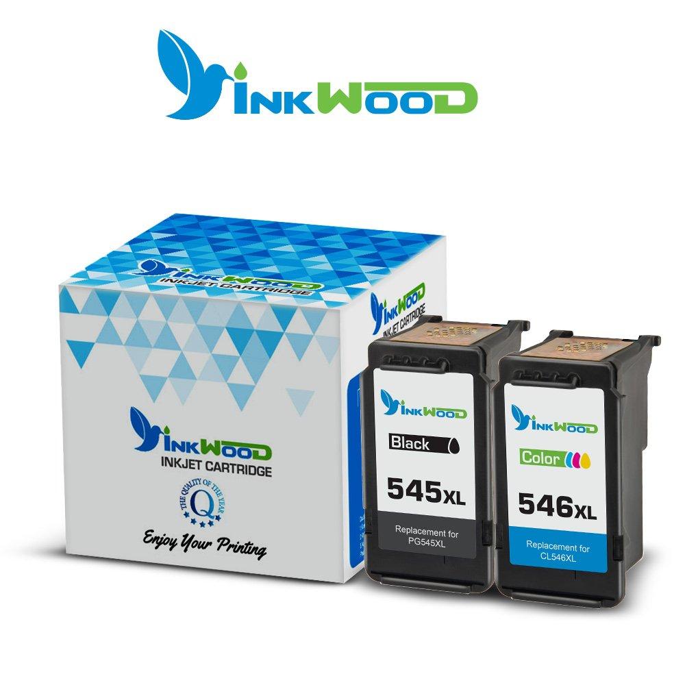 Inkwood - Cartuchos de Tinta reciclados para Canon PG-545 CL-546 ...