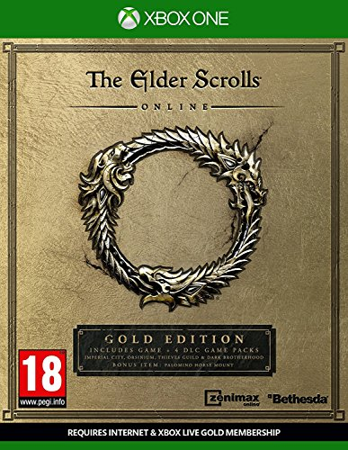 The Elder Scrolls Online Gold Edition (Xbox One) UK IMPORT REGION FREE