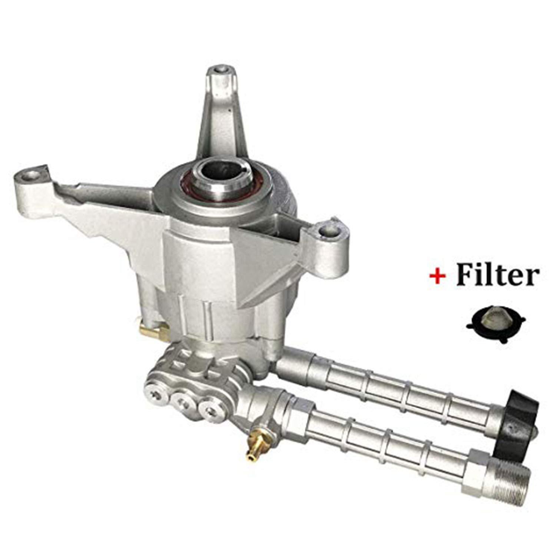 High Pressure Washer Pump Head - Replacement Water Gasoline Pump, 2800 Psi Troy Bilt Oil Pump Accssories Fits KARCHER Craftsman by AgiiMan