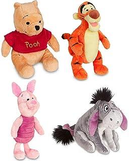 Amazon Com Retired Disney Classic Style Winnie The Pooh Set Of 4