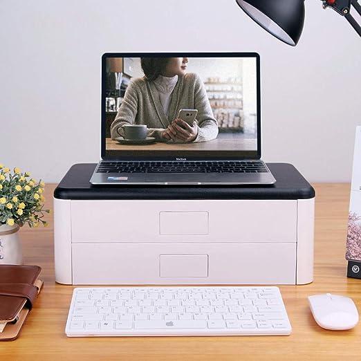 GX&XD Escritorio Equipo Soporte para Monitor,Elevador de Monitor ...