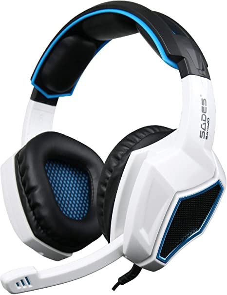 Sades SA920 Gaming Headset for PS4 Xbox One PC Stereo 3.5mm Headphone with MIC