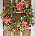 Genesee Silk Spring Door Wreath 22 Inch