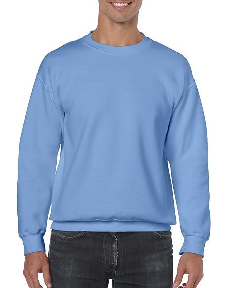 Gildan Adult Crewneck – Sudadera, tamaño S-2 X L, 26 Colores Azul Carolina