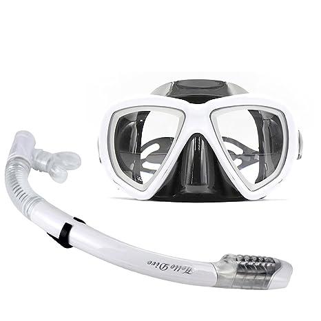 913208ada7d Diving Mask With Myopia Lens Seaview Snorkel Set Dry Top Snorkel Mask  Professional Scuba Glasses Goggles