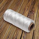 Katzco Nylon Twine Roll Solid Braided - 325 Feet