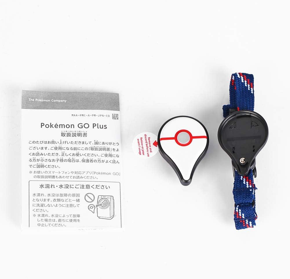 Pulsera de juego Bluetooth Captura autom/ática para Pokemon Go Plus Plata