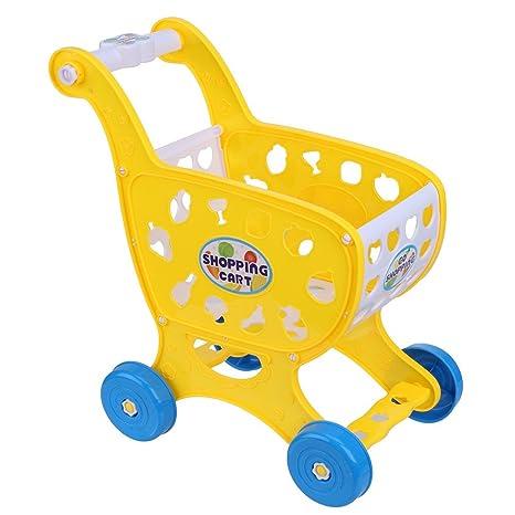 TianranRT Simulación Niños Supermercado Compras Carritos de compras Frutas Hortalizas Juegos de imaginación Niños Niños Juguete