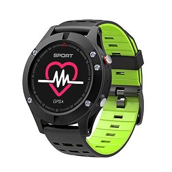 jintime Correas de reloj deportivo Hombre/Mujer F5 Reloj Inteligente IP67 Impermeable GPS Track Bluetooth
