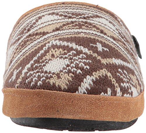 Whitecap Women Woolrich Tricot Mule Glisser Sur La Pantoufle Somerton