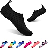 todaysunny Water Shoes Men Women Water Socks Aqua Shoes Socks Barefoot Skin Shoes Yoga Shoes Quick Dry Camo Dive Surf Swim Beach Shoes