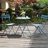 Grand patio 3 Piece Bistro Set, Weather-Resistant