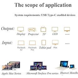 wiwu USB3.0 Hub for Macbook pro typeC Hubs 5 in 1 Multi-Port Adapter USB-C Charging Port for Macbook 12inch Thunderbolt USB-C Hub (rose gold)