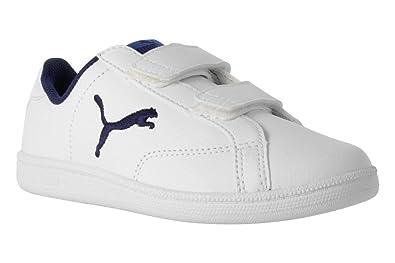 PUMA Shoe 363402-03 Smash White 35 White  Amazon.co.uk  Shoes   Bags 9e490bf76