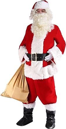 American Rag Mens Santa Suit Hoodie Sweatshirt