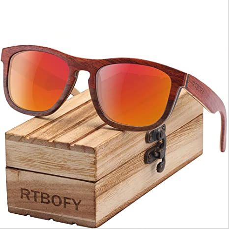 Gafas De Sol Polarizadas Gafas De Sol De Bambú De Madera ...