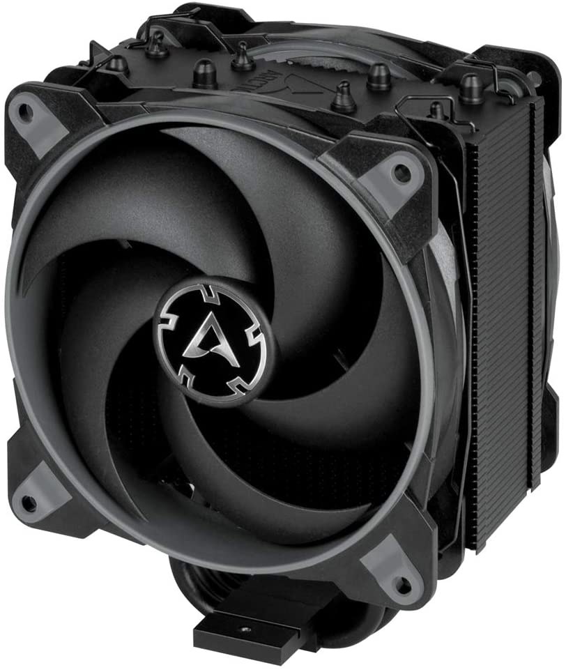 ARCTIC Freezer 34 Esports Duo - Tower CPU Cooler with BioniX P-Series case Fan in Push-Pull, 120 mm PWM Fan, for Intel and AMD Socket, for CPUs up to 210 Watt TDP - Grey