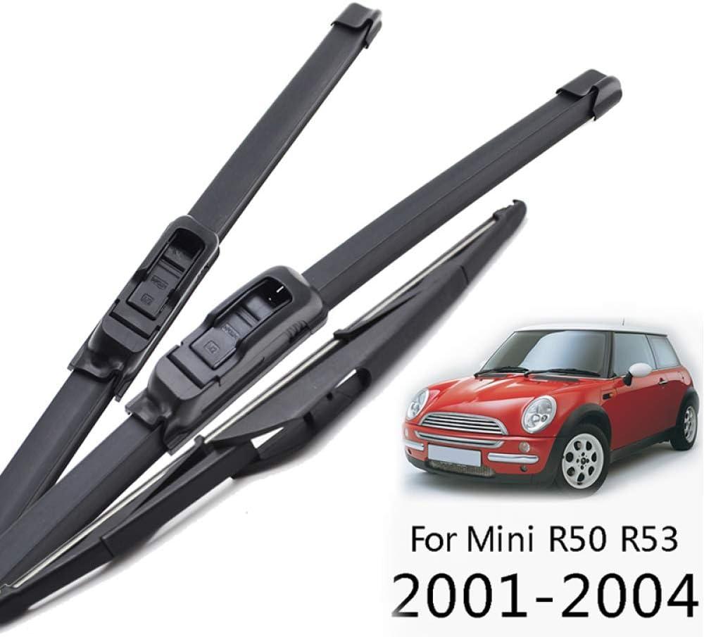 WYYYFA Car wiper For Mini Cooper S Hatch R50 R53 2001-2004,Wiper Front Rear Wiper Blades Windshield Windscreen Rear Window