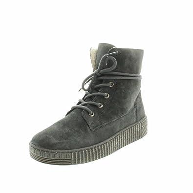 Gabor Damenschuhe 73.732.71 Damen Stiefel, Boots, Stiefelette, mit  verbreiterter Auftrittsfläche, 2f43e87c5b