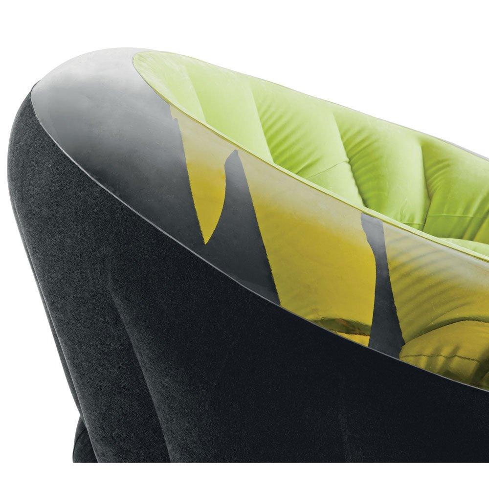 INTEX dubone, naranja, flocado asiento, para interior y ...