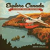 Explore Canada 2019 Wall Calendar