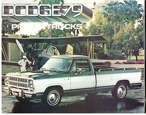 Dodge Pickup Trucks >> Dodge 1979 Pickup Trucks Sales Brochure Various Amazon Com