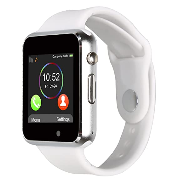 Padgene Bluetooth Smart Watch GSM Phone Watch with Camera for Samsung Nexus HTC Sony and Other