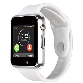 Kivors Reloj Inteligente A1 Bluetooth Smartwatch con TF / Ranura ...