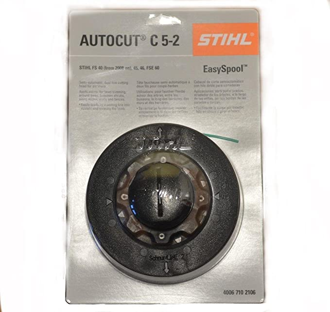 Pour Stihl Autocut C5-2 C6-2 rotofil Head FS38 FS40 FS45 FS50 FSE81 Trimmer Head