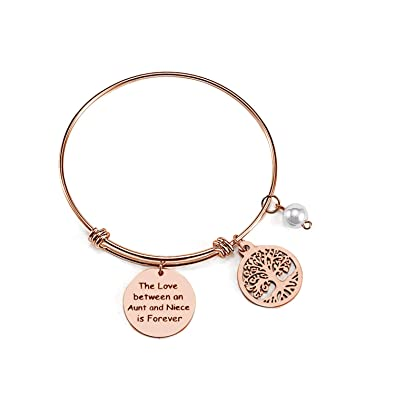59d8bd24f9e4 FREEMODE Family Tree Bangle Bracelets - The Love Between Mother and  Daughter is Forever Bracelet