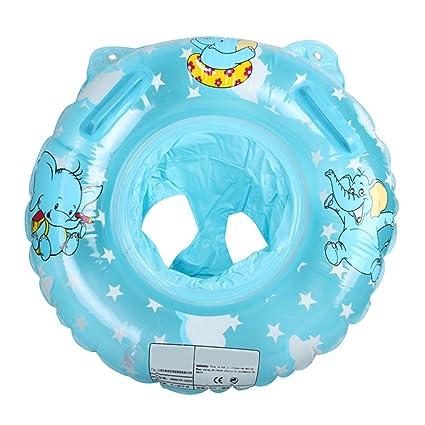 Angelbubbles Flotador para Bebé Anillo de la Nadada del bebé Infante Flotador de aprendizaje de Natación