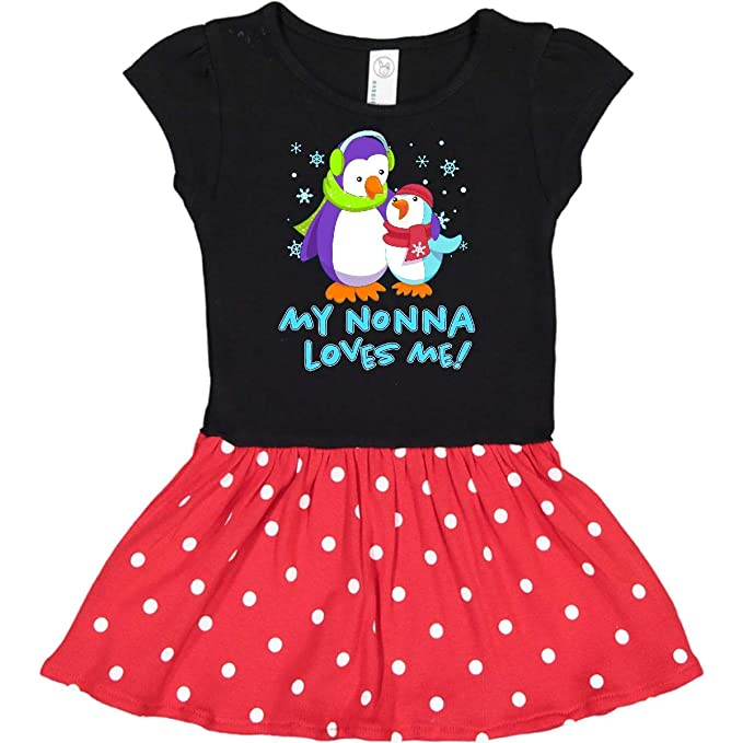 inktastic My Grammy Loves Me Cute Penguins Toddler T-Shirt