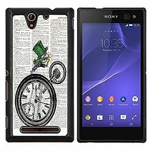 Dragon Case - FOR Sony Xperia C3 D2533 - not let yourselves? - Caja protectora de pl??stico duro de la cubierta Dise?¡Ào Slim Fit