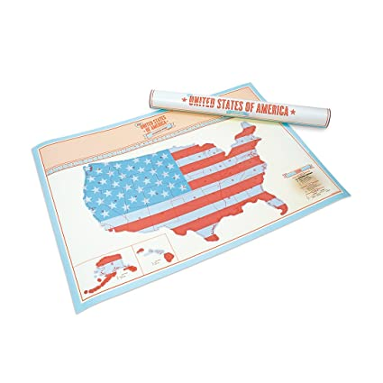 scratch map of usa large 23 4x32 5in personalized map with us states and major