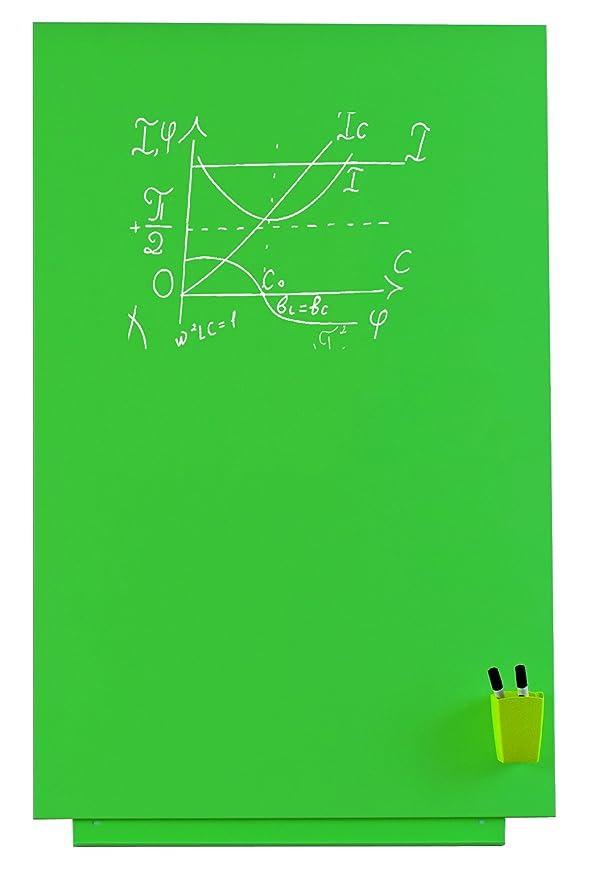 Pizarra verde sin marco Skinchalk. Pizarra magnética de 100 ...