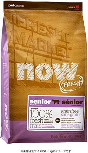 NOW FRESH Grain Free Senior Weight Management Recipe Dry Cat Food 16lb