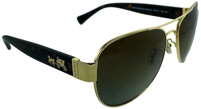eba3a4fb5b17 Coach HC 7059 9238T5 L138 | Gold Frame Color | Brown Gradient ...