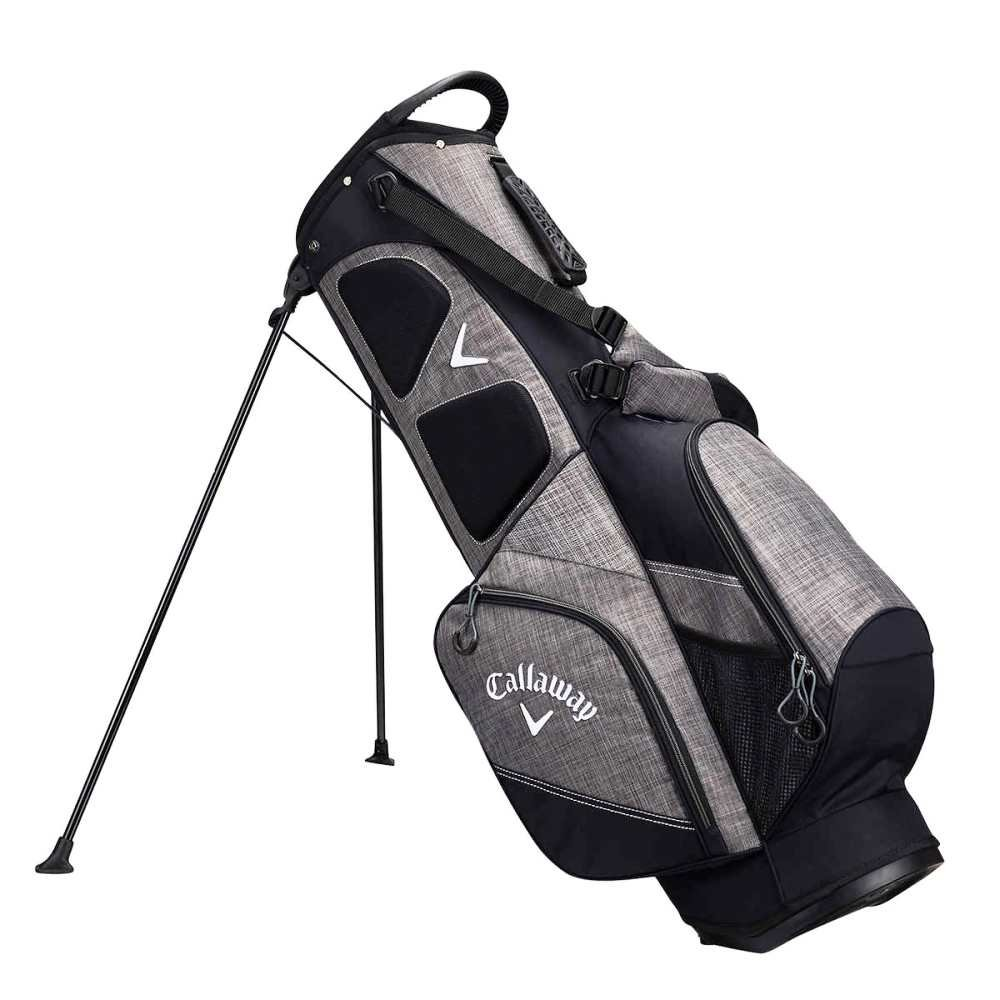 Callaway Stand Bag with Responsive Stand System &Traction Footings- Black