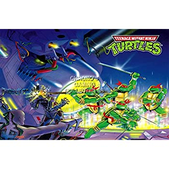 CGC Huge Poster GLOSSY FINISH - Teenage Mutant Ninja Turtles Original Classics - TMNT11 (24