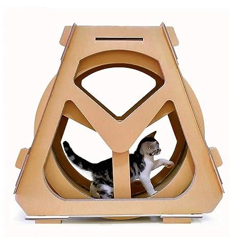 Rueda De Ferris Cat Scratch Board Corrugado Gato De Papel De Escalada Gato De La Basura