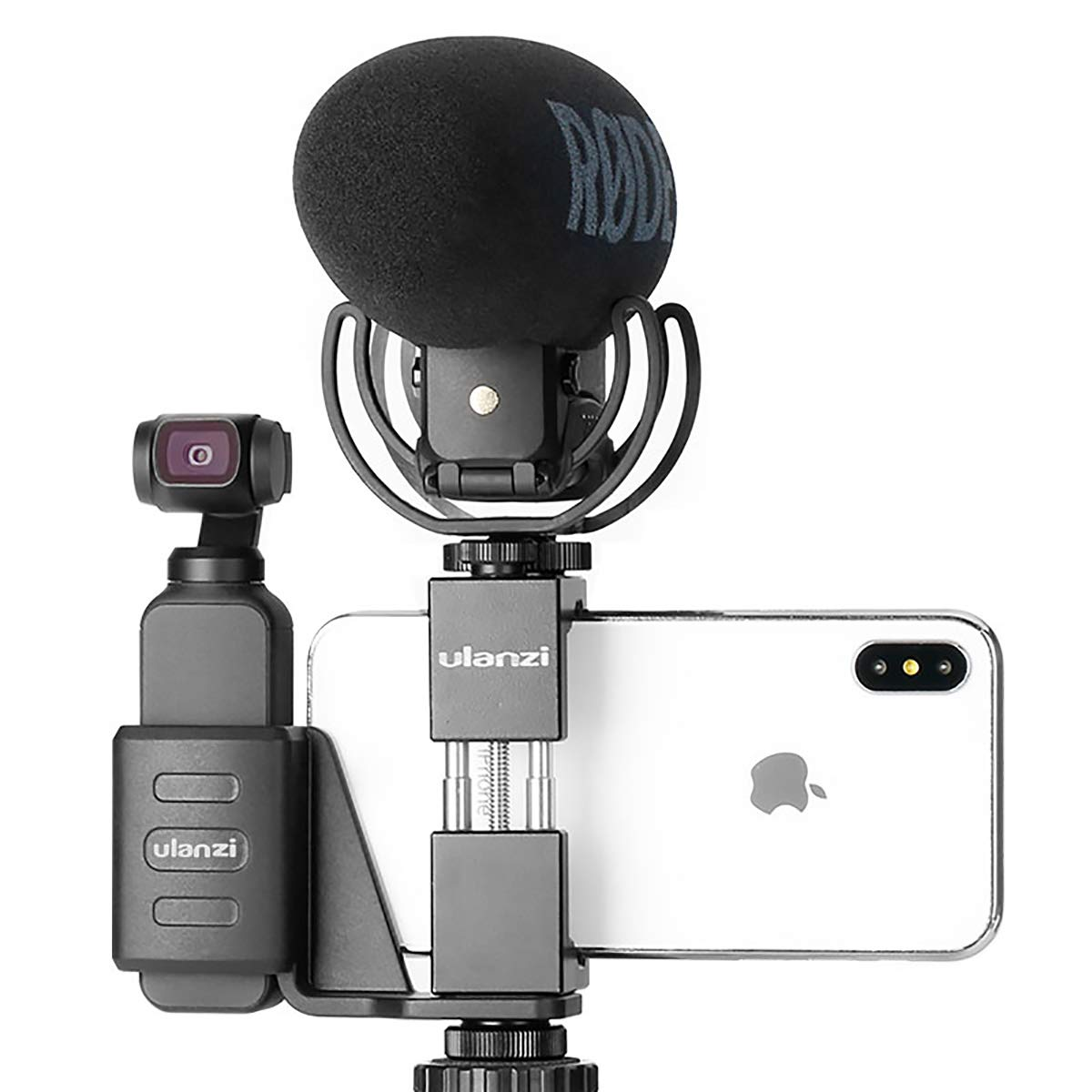 ULANZI OP-1 Handheld Phone Holder Mobile Bracket Set Gimbal Stand Tripod Mount w Cold Shoe Mount for DJI OSMO Pocket