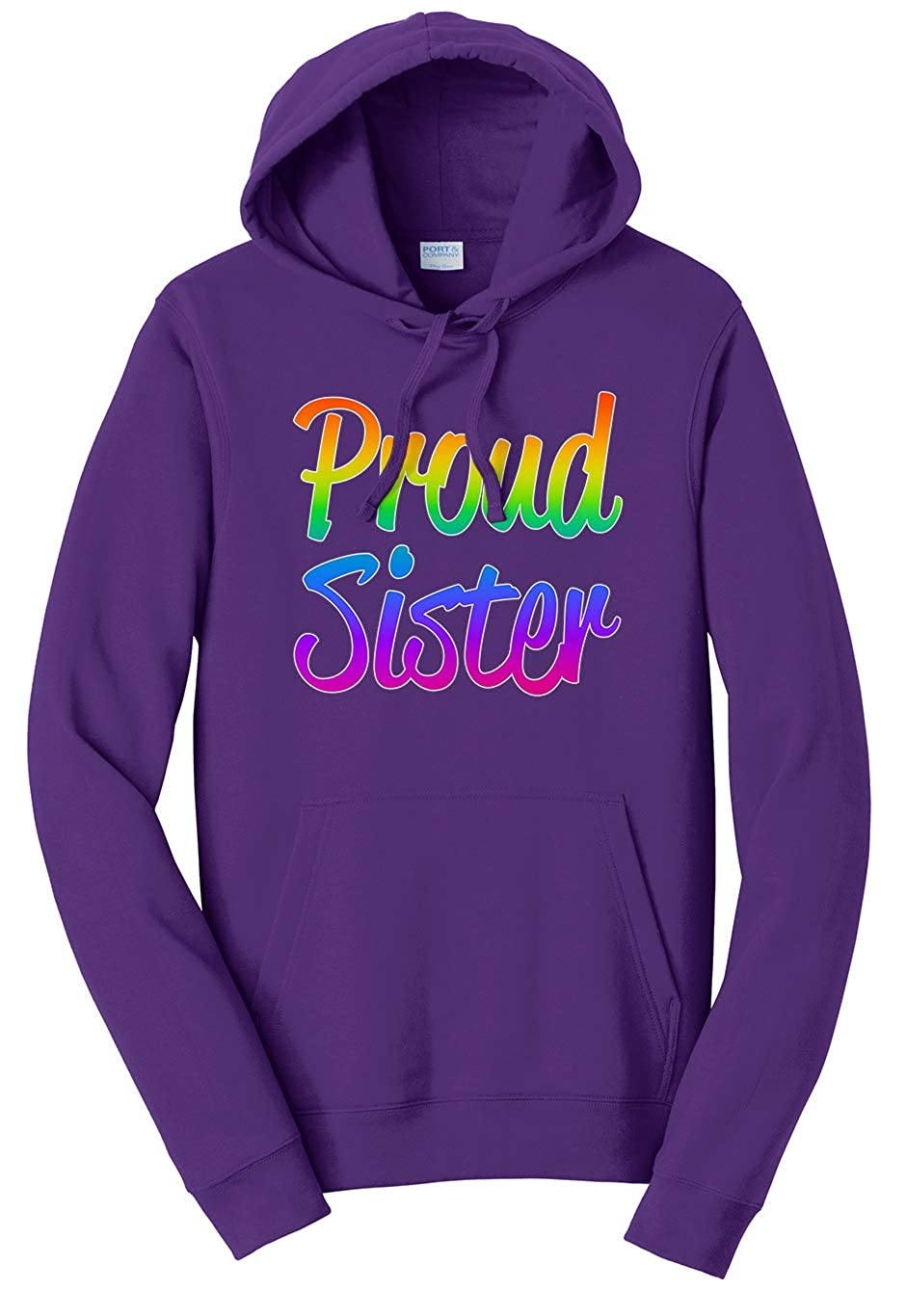 Tenacitee Unisex Proud Sister Sweatshirt